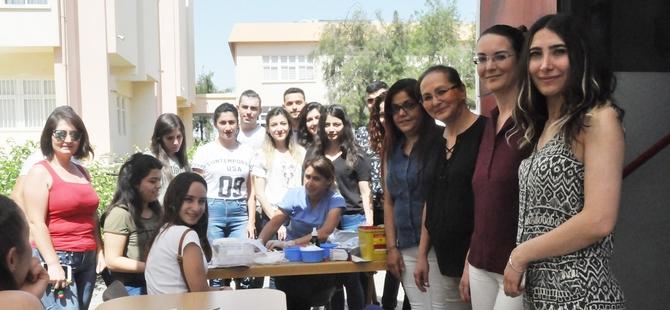 DAÜ Sağlık Bilimleri Fakültesi Hemşirelik Bölümü kan bağışı kampanyası düzenledi
