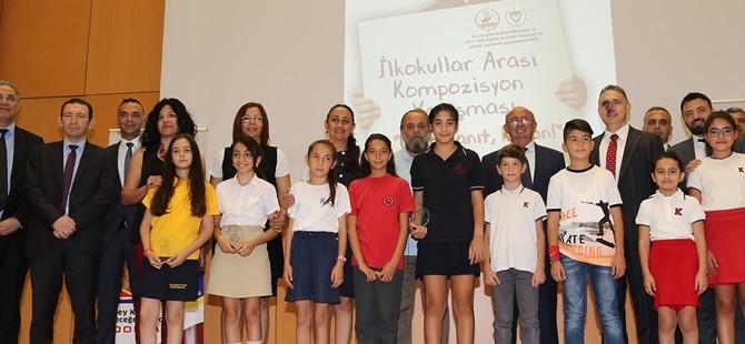 Koopbank'ın düzenlediği İlkokullar Arası Kompozisyon Yarışması Ödül Töreni yapıldı