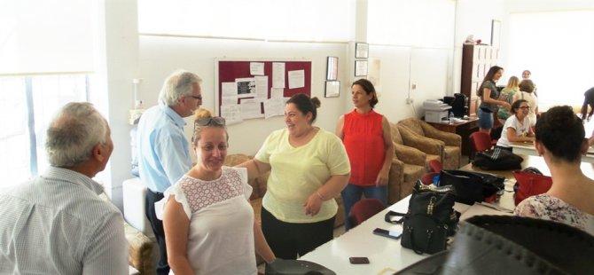CTP Güzelyurt Belediye Başkan adayı Osman Bican ziyaretlerde bulundu