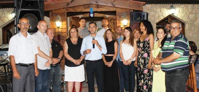 Karaman CTP Kadın Örgütü Girne İlçesi'nin düzenlediği yemeğe katıldı