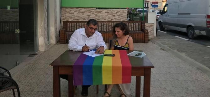 Gazimağusa Belediye Başkan Adayı Ulaş Gökçe Kuir Kıbrıs'ın protokolünü imzaladı