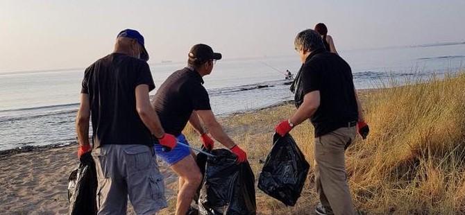 Her Daim Dostlar Kocareis-Venüs arasında sahil temizliği yaptı