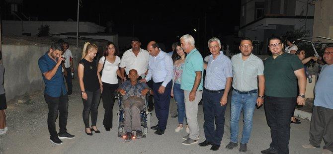 Karavezirler Dilekkaya'yı ziyaret etti