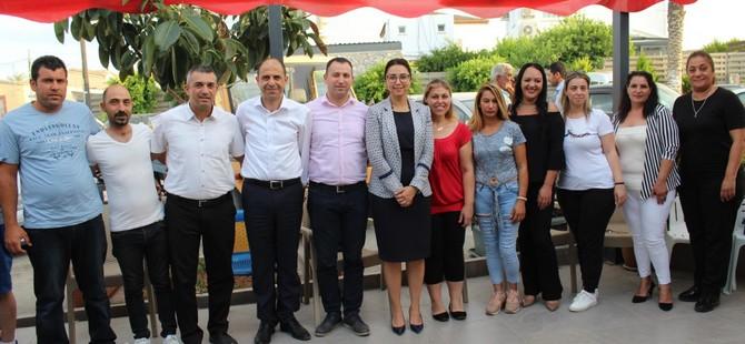 HP Paşaköy ve Vadili Belediye Başkan adayları halka bir araya geldi