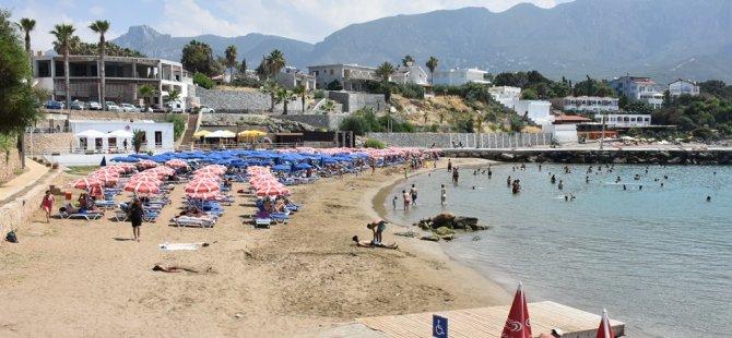 Girne'deki plaj ve sahiller yaz sezonuna hazır