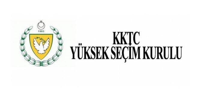 YSK, adayları geçici olarak ilan etti