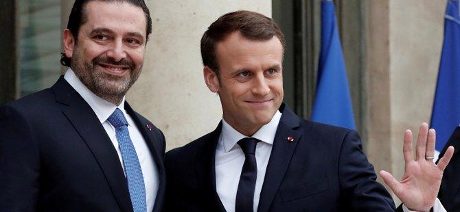 Macron: Suudi Arabistan'ın esir aldığı Hariri'yi ben kurtardım