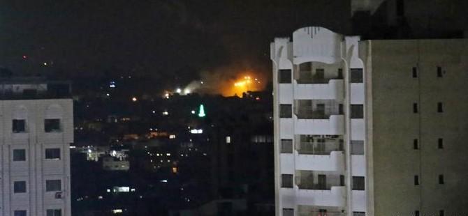 İsrail'den Gazze'deki hedeflere operasyon
