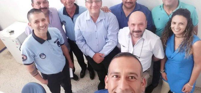 Ulaş Gökçe Mağusa Türk Genel İş'iZiyaret Etti