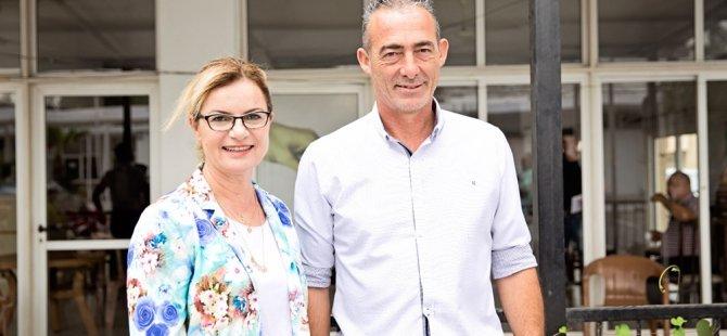 Gencay Eroğlu Bes'i ziyaret etti…
