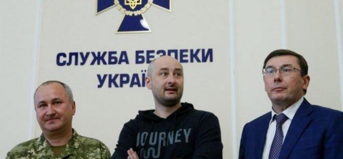 'Öldürüldü' denilen Rus gazeteci Ukrayna'da basın toplantısı düzenledi