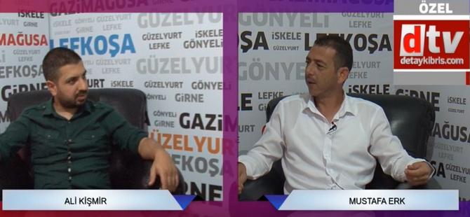 """Mustafa Erk: """"Belediyeyi kurumlarla barıştıracağım"""""""