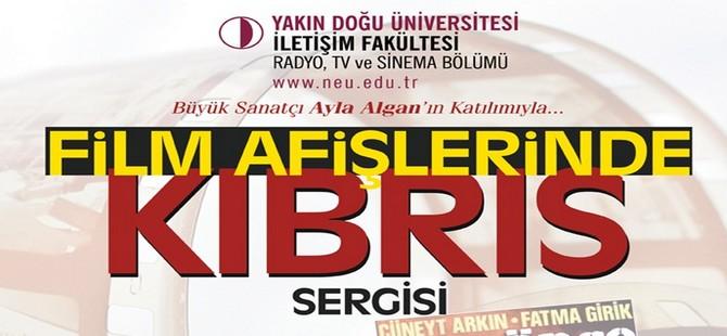 Kıbrıs'ı konu alan film afişlerinden oluşan sergi açılıyor