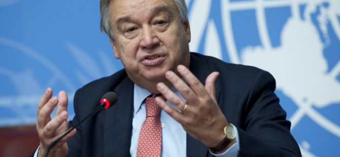 Guterres'in liderlerle ortak görüşme yapacağı iddia edildi