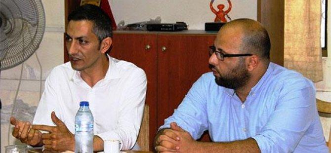 CTP Girne Belediye Başkan Adayı Karaman'dan TOL'a ziyaret