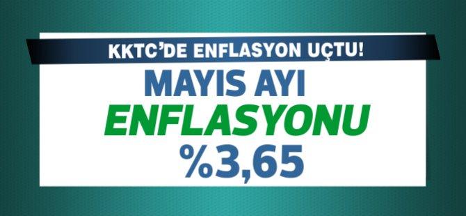 KKTC'de Mayıs ayı enflasyonu yüzde 3.65