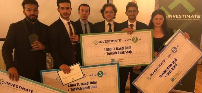 """DAÜ Bankacılık ve Finans öğrencileri """"Investimate"""" yarışmasını domine etti"""
