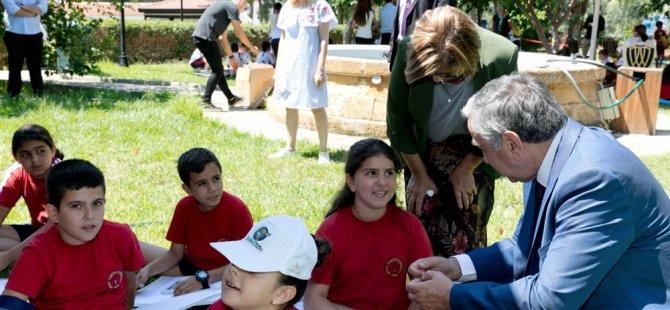 Hedef çocuklarda çevre farkındalığını artırmak