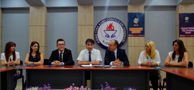 Kamu-Sen ile KİÜ arasında protokol imzalandı