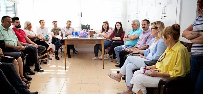 Eroğlu haspolat ilkokulu'nu ziyaret etti