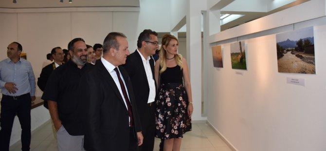 """""""Çevre"""" konulu fotoğraf yarışması sergisi LEFKOŞA akm'de"""