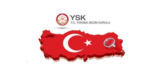 Türkiye'de 8 siyasi parti ve bağımsızlarla 4,851 aday var