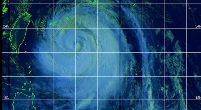 ABD uydusu Tayvan'daki felaketi görüntüledi