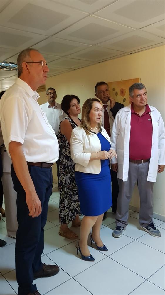 Uzun vadede hedefimiz Girne'ye yeni bir hastane inşa etmek