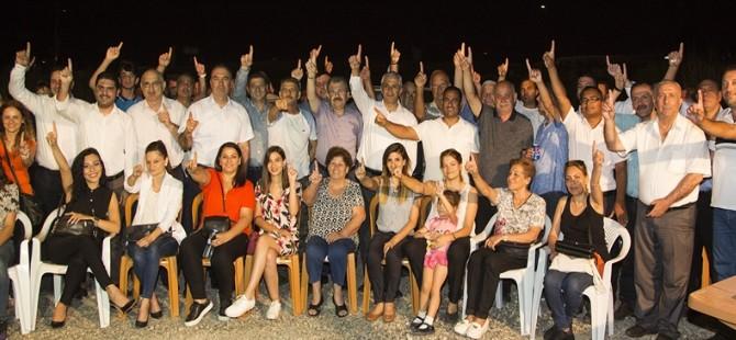 UBP Lefkoşa Belediye Başkan Adayı Sertoğlu Hamitköy Örgütü'nü ziyaret etti