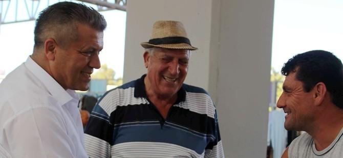 Arter, Gazimağusa pazar yerini ziyaret etti