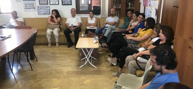 Sümer Aygın 'Saygın Bir Girne İçin' ziyaretlerini sürdürüyor