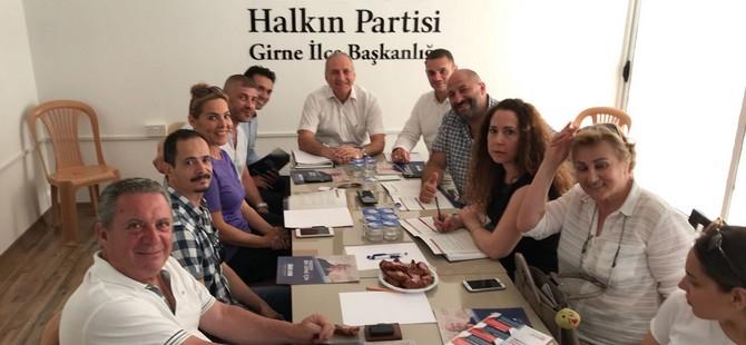 Sümer Aygın Halkın Partisi'ne ziyaret gerçekleştirdi