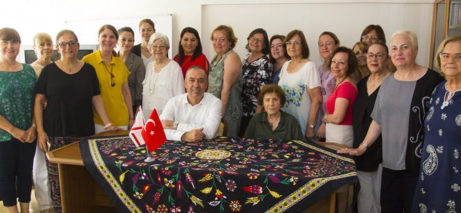 Sertoğlu Kadınlar Konseyi'ni ziyaret etti
