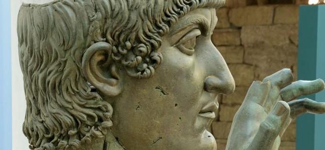 Konstantin'in kayıp parmağı bulundu