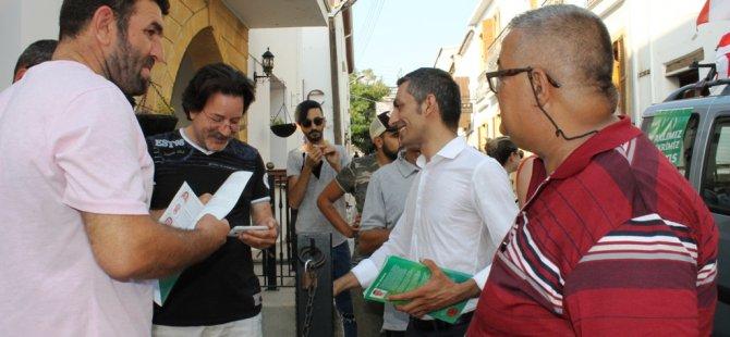 Karaman, Mete Adanır Caddesi ile Bellapais'i ziyaret etti