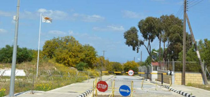 Galanos Derinya Sınır Kapısı'nın açılmasının ertelenmesinin önerilebileceğini söyledi