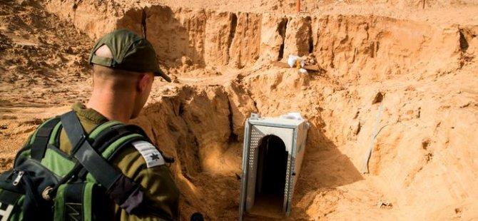 İsrail Ordusu Gazze Şeridi'nde tünel yıktı