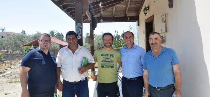 Karavezirler Cihangir'i ve belediyeye ait iş yerlerini ziyaret etti