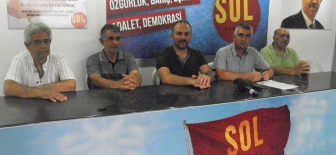 YKP yetkilileri BES ve Sol Hareket'i ziyaret etti