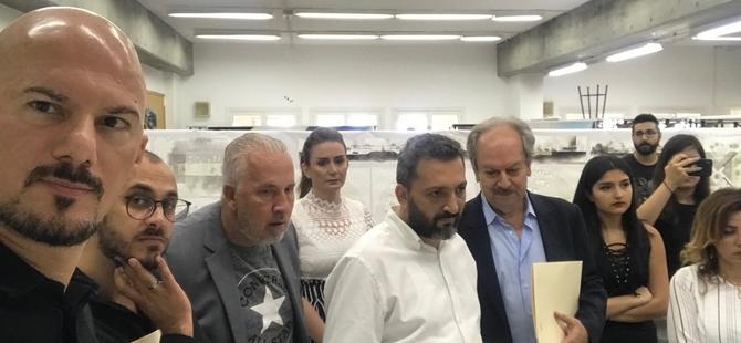 DAÜ Mimarlık Fakültesi Dekanı Prof. Dr. Özgür Dinçyürek, Lübnan'da akademik temaslarda bulundu