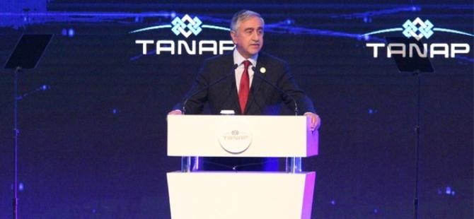 Akıncı, Eskişehir'de TANAP projesinin açılışında konuştu