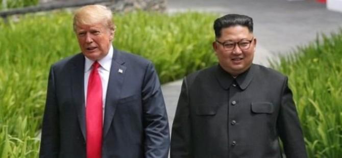 Kuzey Kore medyası: Kim, Trump'ın Beyaz Saray'a davetini kabul etti
