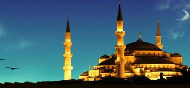 Ramazan Bayramı cuma günü başlıyor...Bayram namazı sabah 06.16'da