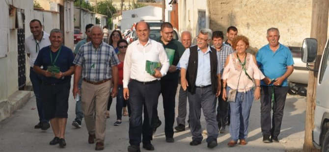 CTP, Minareliköy'ü ziyaret etti