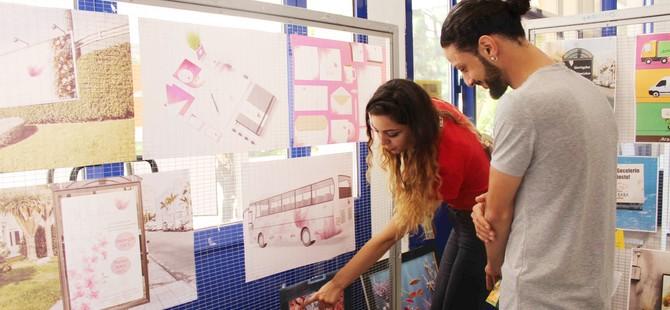 LAÜ öğrencilerinin tasarımları sergilendi