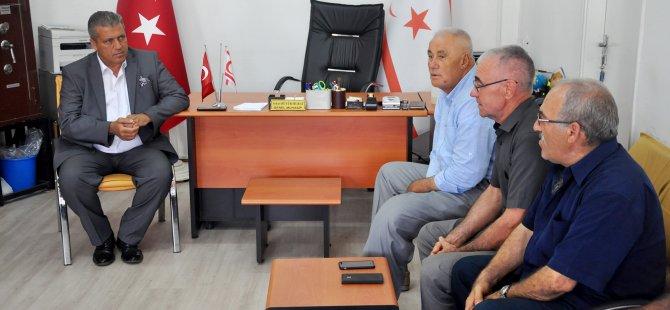 Arter, TBK Gaziler Derneği Gazimağusa Şubesi'ni ziyaret etti