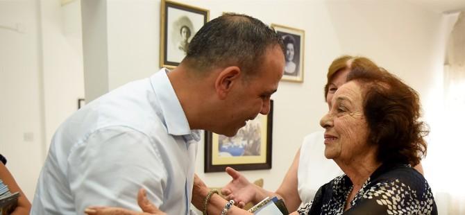 LTB Başkanı Harmancı Kıbrıs Türk Kadınlar Birliği'ni ziyaret etti