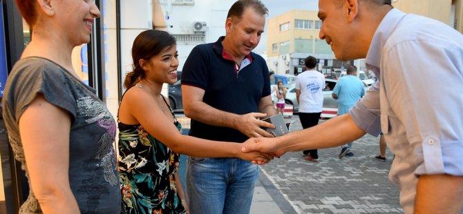Harmancı'ya Taşkınköy'de büyük ilgi