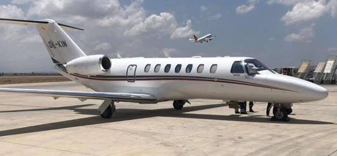 """""""Çek ambulans uçağı Ercan'a doğrudan uçuş gerçekleştirdi"""""""