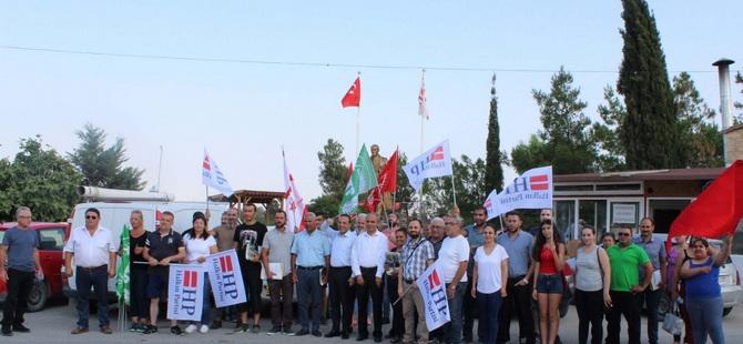 Akmercan Güvercinlik Köyü'nde coşkuyla karşılandı
